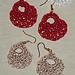 Glam Clamshell Earrings pattern