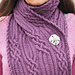 Bardsea Scarf (Optional Hood) pattern