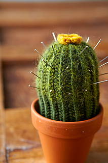 Lucille Randall/'s By Cactus Knitting Pattern Wooly Cacti