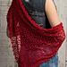 Ruby Red Shawl pattern