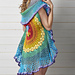 Rainbow Mandala Waistcoat pattern