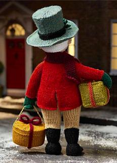Alan Dart Knitting Pattern for Grandpa Jolly