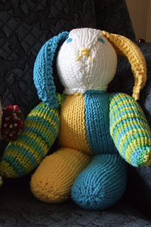 Herbie's Knitted Bunny