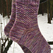 Drippity Drop Socks pattern