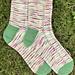 Village Fete Socks pattern
