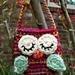 Little Owlie Key Pouches pattern