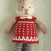 Seasonal dresses supplement, Christmas pattern