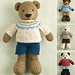 Boy bear pattern
