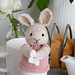 bunny egg cosy pattern