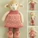 girl lamb pattern