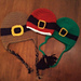 """Belted"" Beanies: Leprechaun, Santa, & Pilgrim pattern"