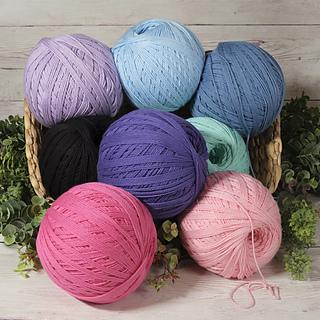 Pale Lilac 874, Ice 868, Denim 871, Noir 817, Violet 864, Mint 869, Hot Pink 865, Pretty Pink 873