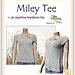 miley tee pattern