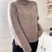 Gossamer Twist Sweater pattern