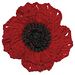 Remembrance Poppy pattern