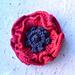 Remembrance Poppy to knit pattern