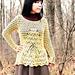 Lill Estonian Lace Tunic pattern