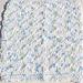 Chevron Baby Washcloth pattern