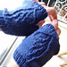 Frühling Wing Mitts pattern