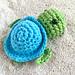 Summer Breeze Amis: Sea turtle pattern
