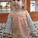 2865 Girl's Tunic Dress pattern