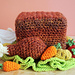 Turkey Tissue Box Cozy with Roasted Veggies pattern