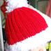 Bonnet de Noël / Wooly hat for Christmas pattern