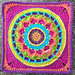 Dream Circle Square and Mandala pattern