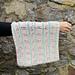 Lady Edith Writing Cowl pattern