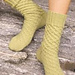 Uptown Boot Socks pattern