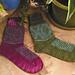 Hidden Passion Socks pattern