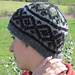 Fake Isle Hat pattern