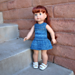 "18"" Lilly Doll Dress pattern"