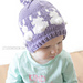 Easter Bunny Fair Isle Hat pattern