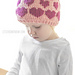 Valentine Floating Hearts Hat pattern