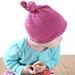 Little Knit Top Knot Hat pattern