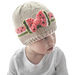 Watermelon Bow Hat pattern
