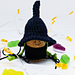 Halloween Gnome (witch) pattern