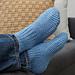 Time-Off Slipper Socks pattern