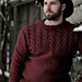Mens Cabled Sweater pattern