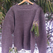 Sweater with Square Armholes pattern