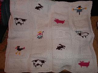 Debbie Bliss Farmyard Baby Wrap