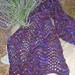 Handpainted Shawl/Throw pattern
