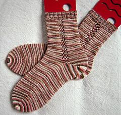 Neapolitan Dublin Bay Socks