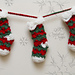 Prancer Stocking Bunting pattern