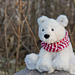 Peppermint the Polar Bear pattern