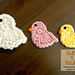Spring Chick Applique pattern