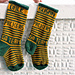 Green Bay Christmas Stocking pattern