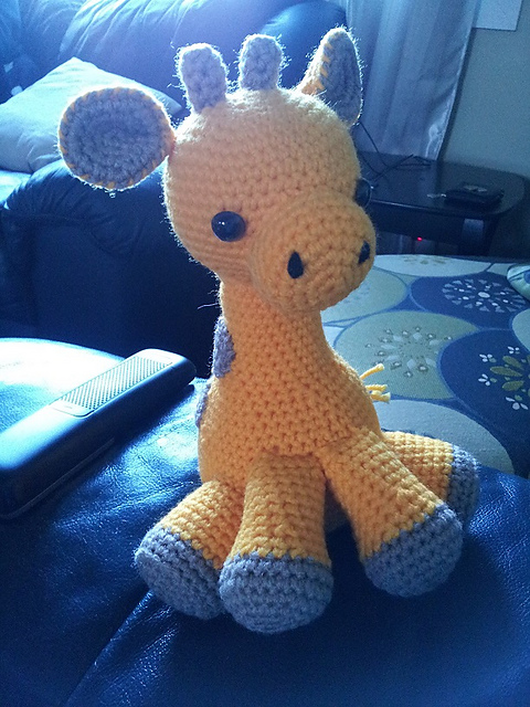 Hearty Giraffe Crochet Amigurumi Free Pattern - #Amigurumi; #Giraffe; Toy Free  Crochet Patterns • DIY How To | 640x480