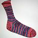 TOFUtsies 2 Color Slipped Stitch Socks pattern